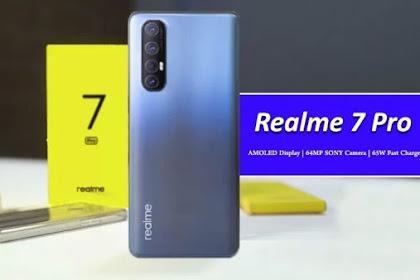 Bawa Teknologi Pengisian Tercepat, Ini Harga Realme 7 Pro