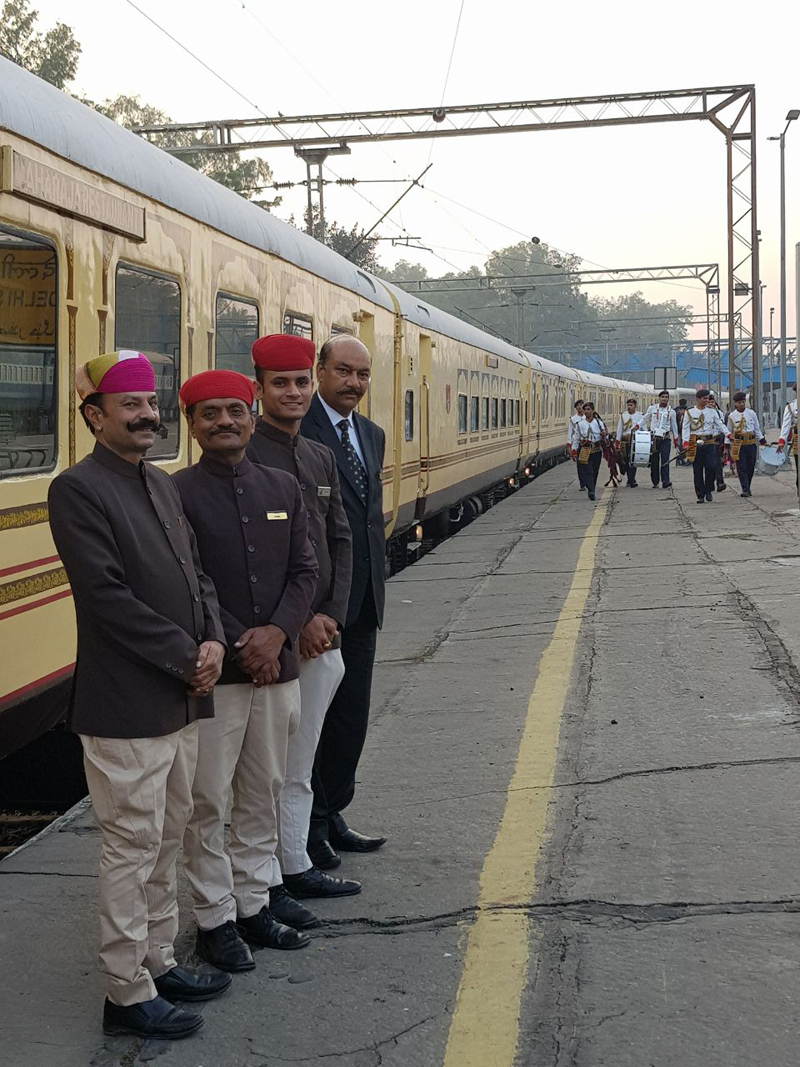 Heritage Palace On Wheels Jaipur.