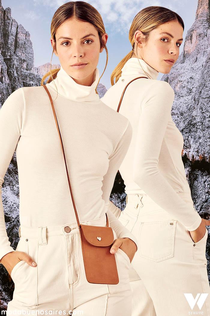 poleras de moda invierno 2021 mujer
