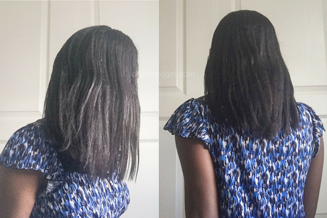 See why I considered ditching relaxing my hair and how my latest trip to the stylist went. | arelaxedgal.com