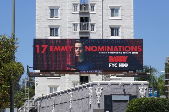 Barry 17 Emmy nominations season 2 billboard