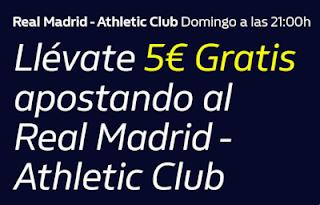 william hill promocion Real Madrid vs Athletic 22 diciembre 2019