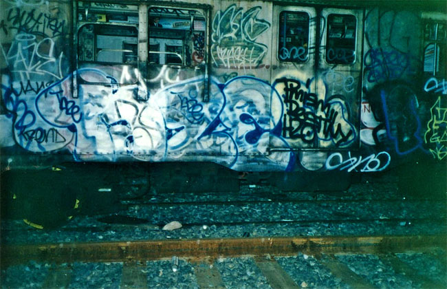 1990s Nyc Graffiti Vintage Everyday
