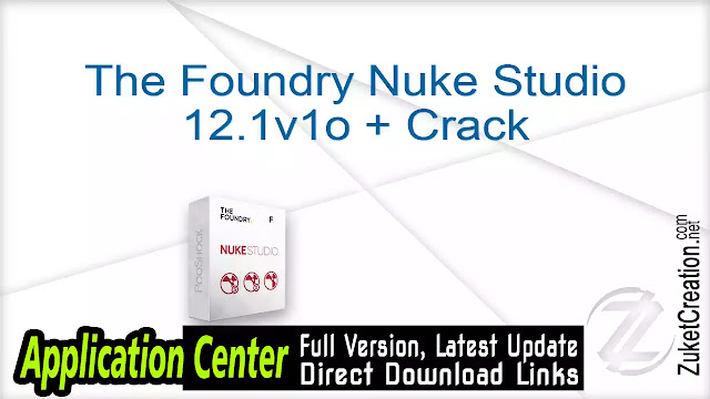 The Foundry Nuke Studio 12.1v1o + Crack