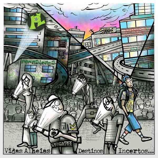 """""""Vidas Alheias Destinos Incertos"""" - 2-º álbum da banda PernaLonga"""