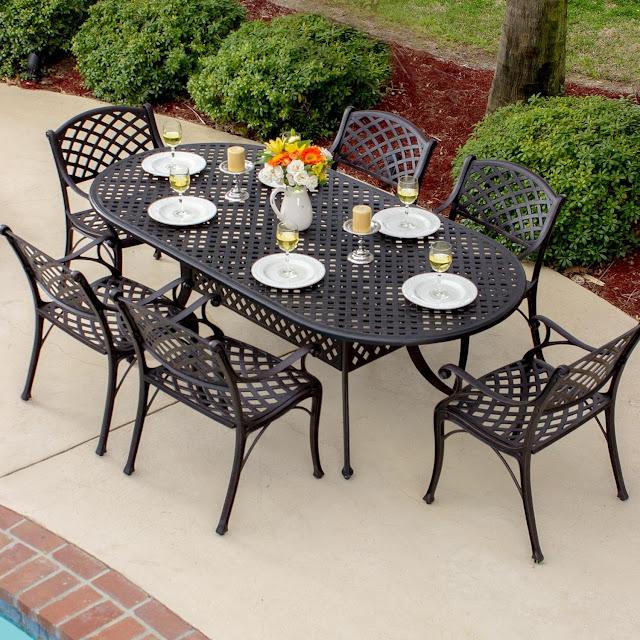 Modern wrought iron patio furniture