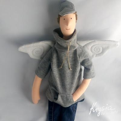 Krysia to uszyła - anioł rozrabiaka