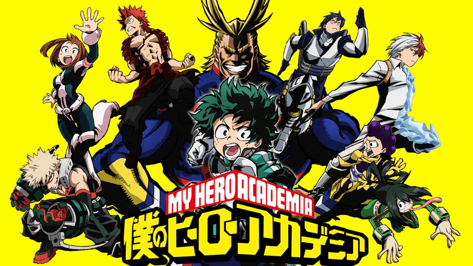 My Hero Academia (僕のヒーローアカデミア)