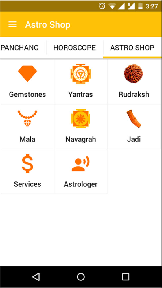 AstroShop in AstroSage Kundli 7 is adorned with all the useful services and products.