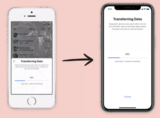 Signal Can  Now Transfer Your Chat History To Your New iPhone