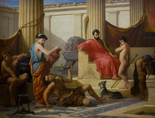 Educación en Esparta de Luigi Mussini