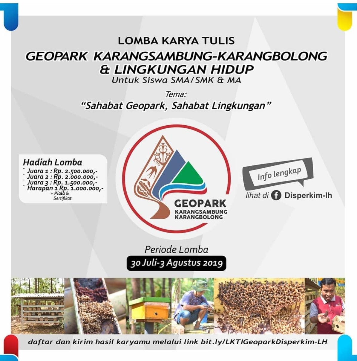 Disperkim LH Kebumen Gelar Lomba Karya Tulis Ilmiah Berhadiah Total Rp 7 Juta
