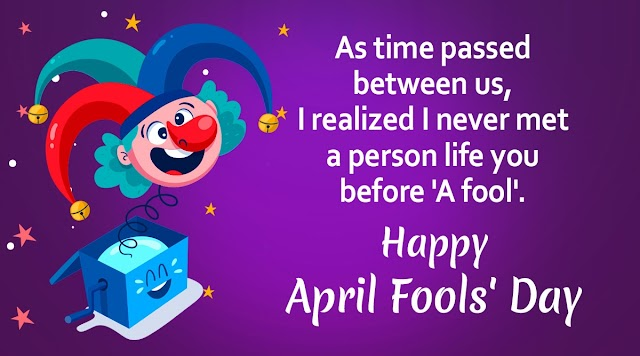 April Fool Day Wishes In Hindi 2021