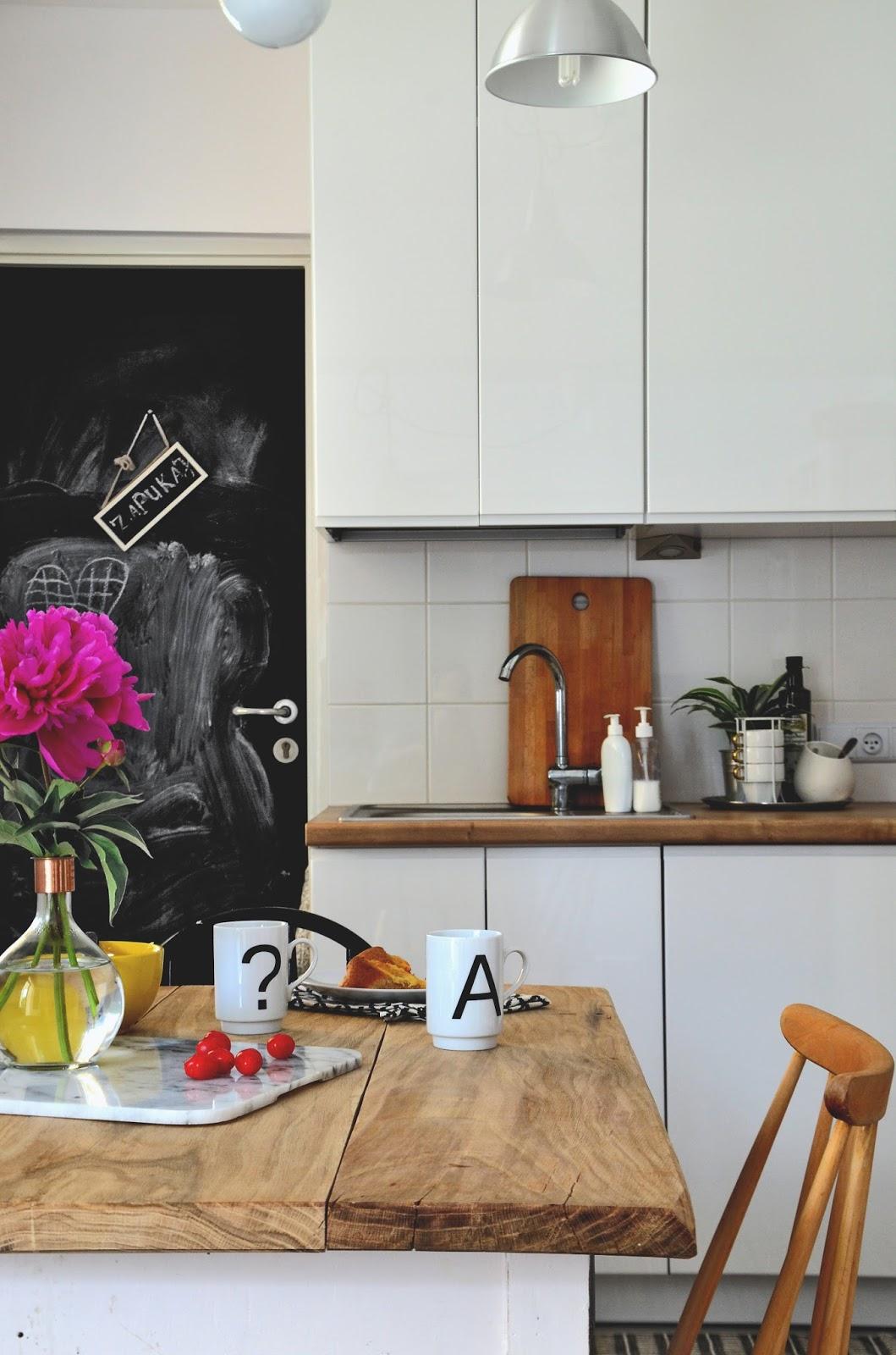 Zmiany W Kuchni Olej Do Drewna Stary Stół