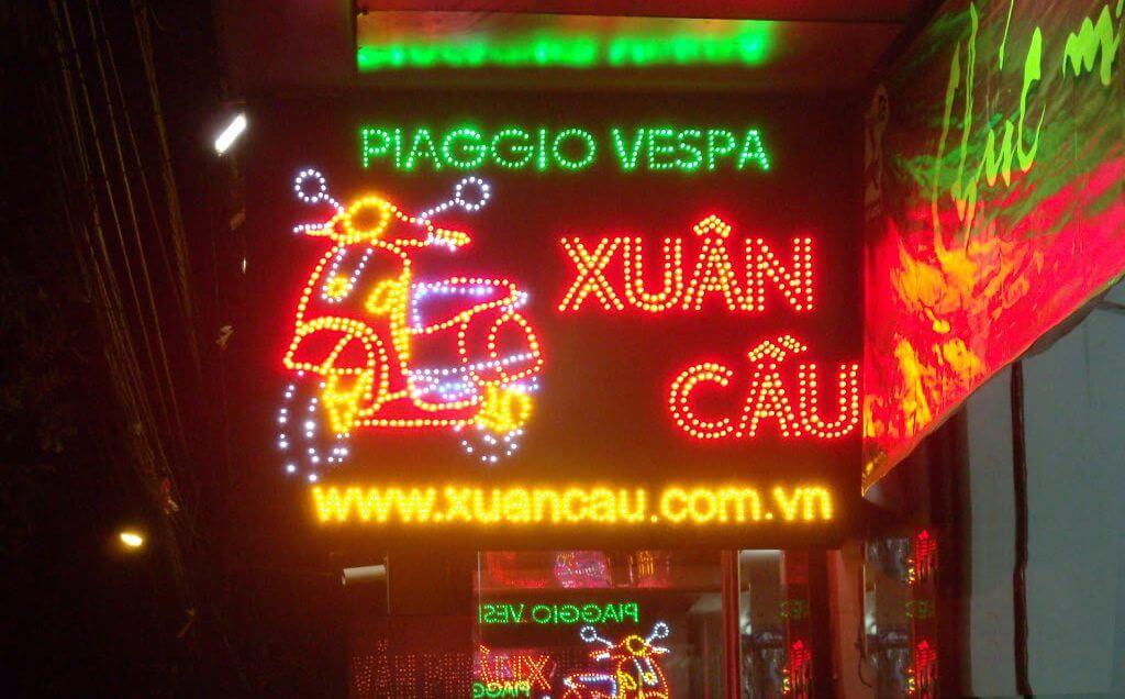 Làm bảng hiệu đèn led giá rẻ tại Đà Nẵng