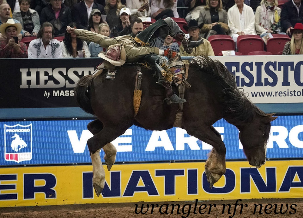Injury | J R  Vezain's NFR door for Will Lowe - NFR Network