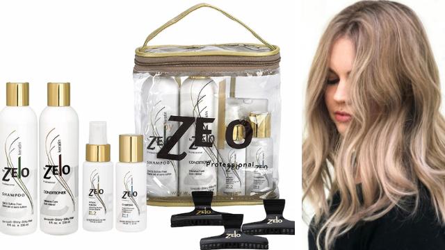 Zelo Brazilian Keratin Hair Kit | Sulfate Free Shampoo,