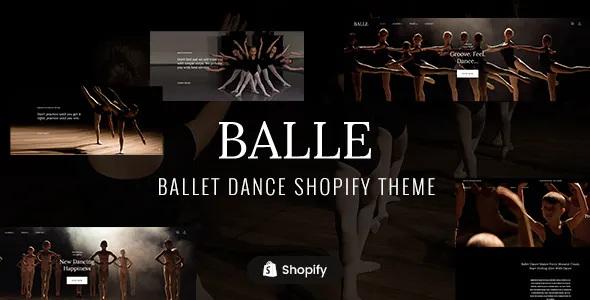 Best Dance Studio Shopify Theme