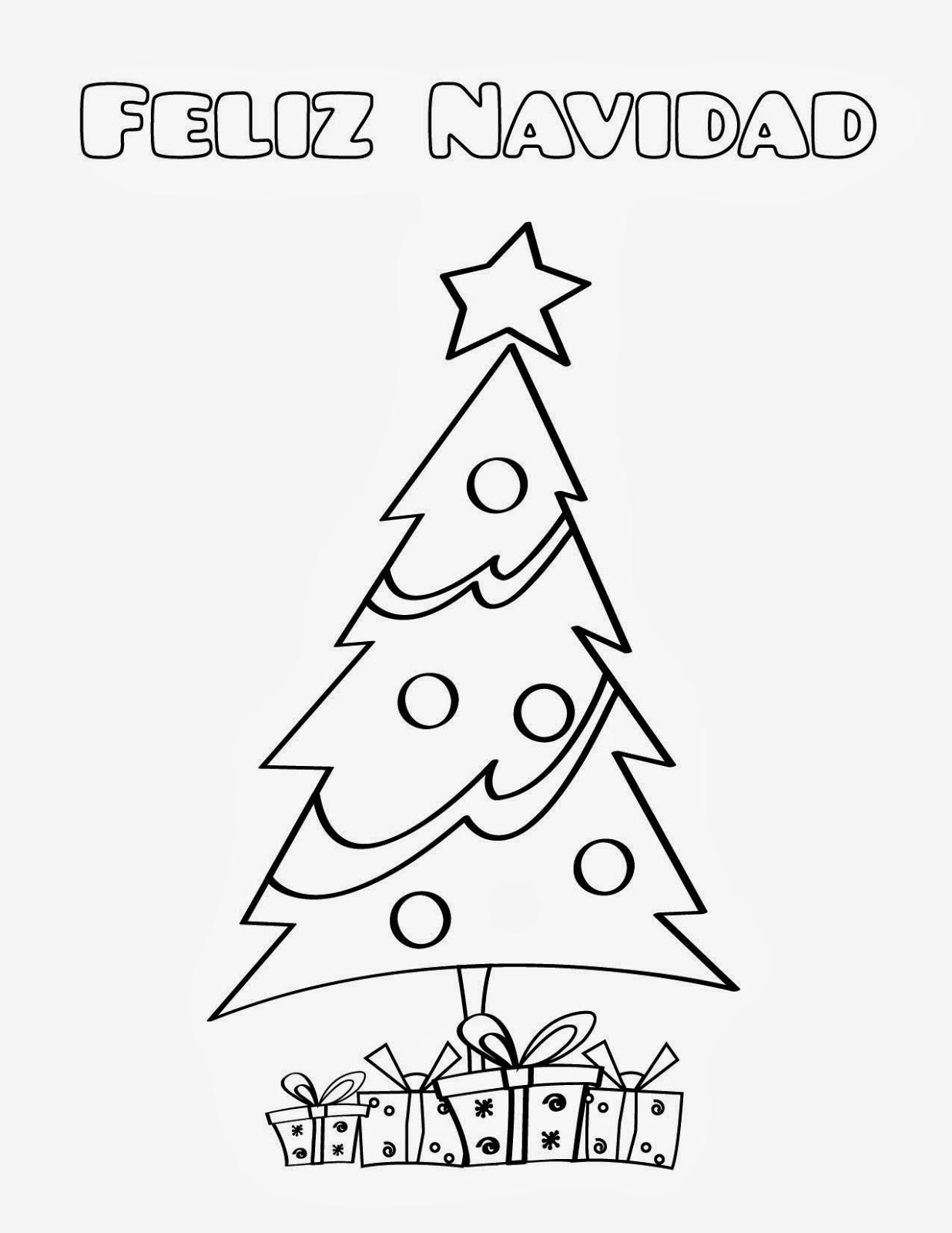 feliz pascua coloring pages | RELIGICANDO EN EL COLE: Ficha para colorear: Feliz Navidad.
