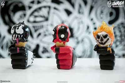 Marvel: One-Scoops Vinyl Figures by Erik Scoggan x Unruly Industries