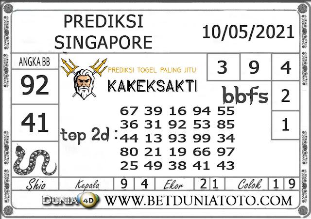 Prediksi Togel SINGAPORE DUNIA4D 10 MEI 2021