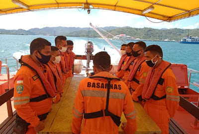 Basarnas Mataram Cari 6 ABK Kapal Tenggelam di Perairan Pagerungan Madura