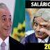 PANELAS EM SILÊNCIO: TEMER DÁ R$ 17 REAIS DE AUMENTO NO SALÁRIO MINIMO 2018.