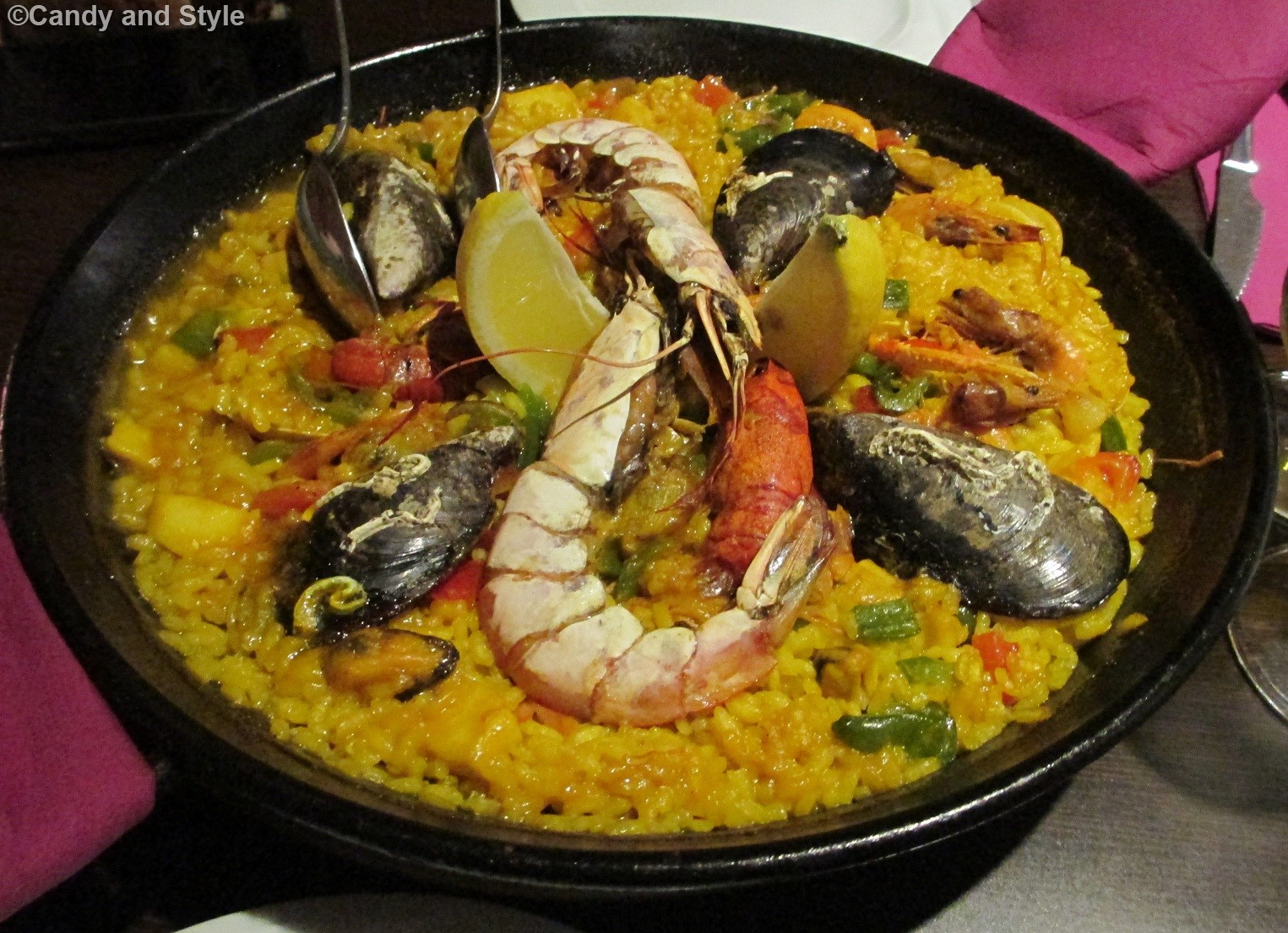 Madrid, Paella