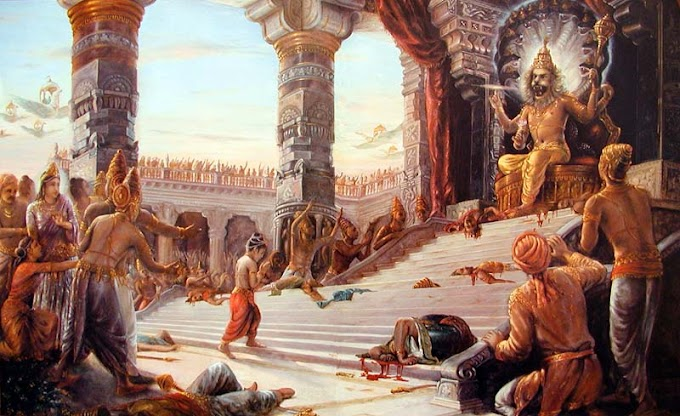 THE STORY OF LORD NARASIMHA & PRAHALLAD - page 2