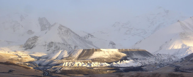 Mountain's Toe Gold Mine from a distance