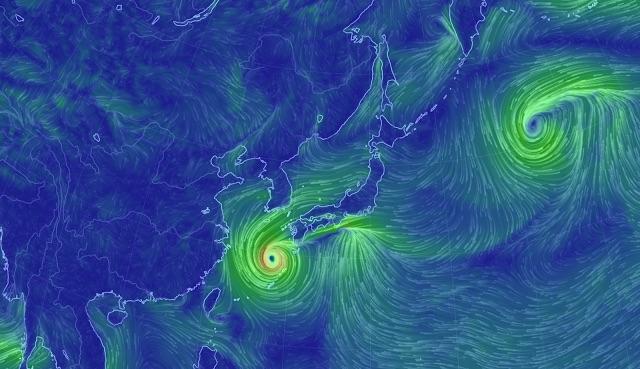 風の流れが視覚的に見れるサイト「earth:」が面白い【n】 地球の風をビジュアル化