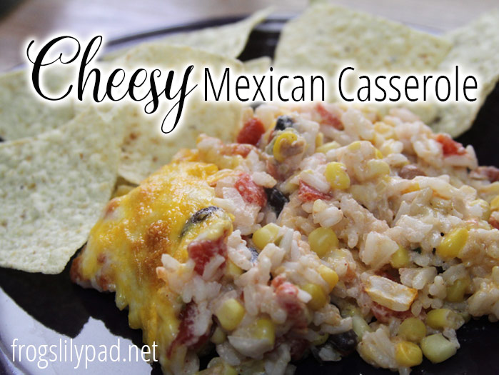 Cheesy Mexican Casserole Recipe