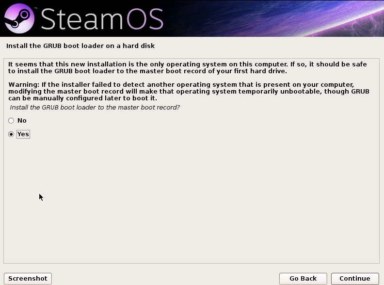 Install steamos without uefi | Peatix