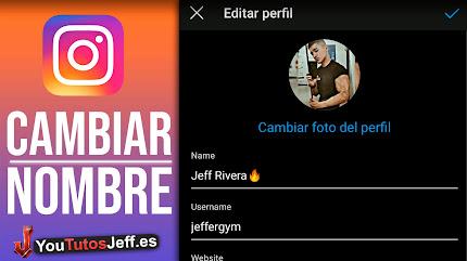 Como Cambiar el Nombre de Instagram 2020