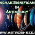 Panchak Significance In Astrology