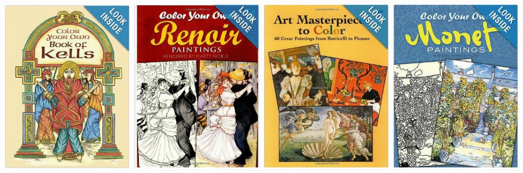 Ordinary Lovely In Overwhelming Praise Of Dover Coloring Books And