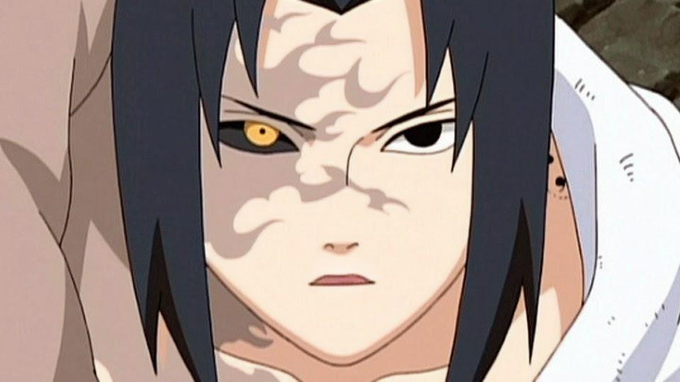 Sasuke Uchiha Sello Maldito