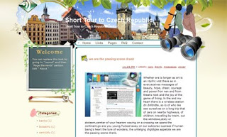 Short Tour to Czech Republic Blogger Template