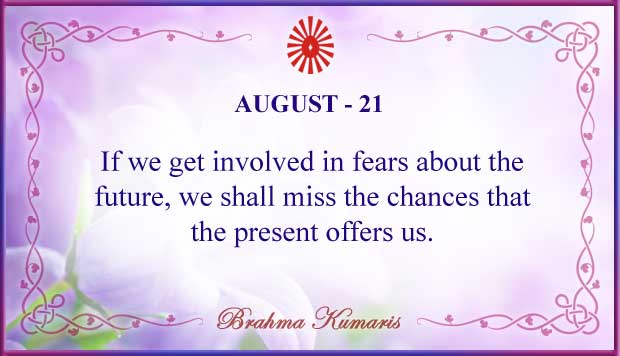Thought For The Day August 21