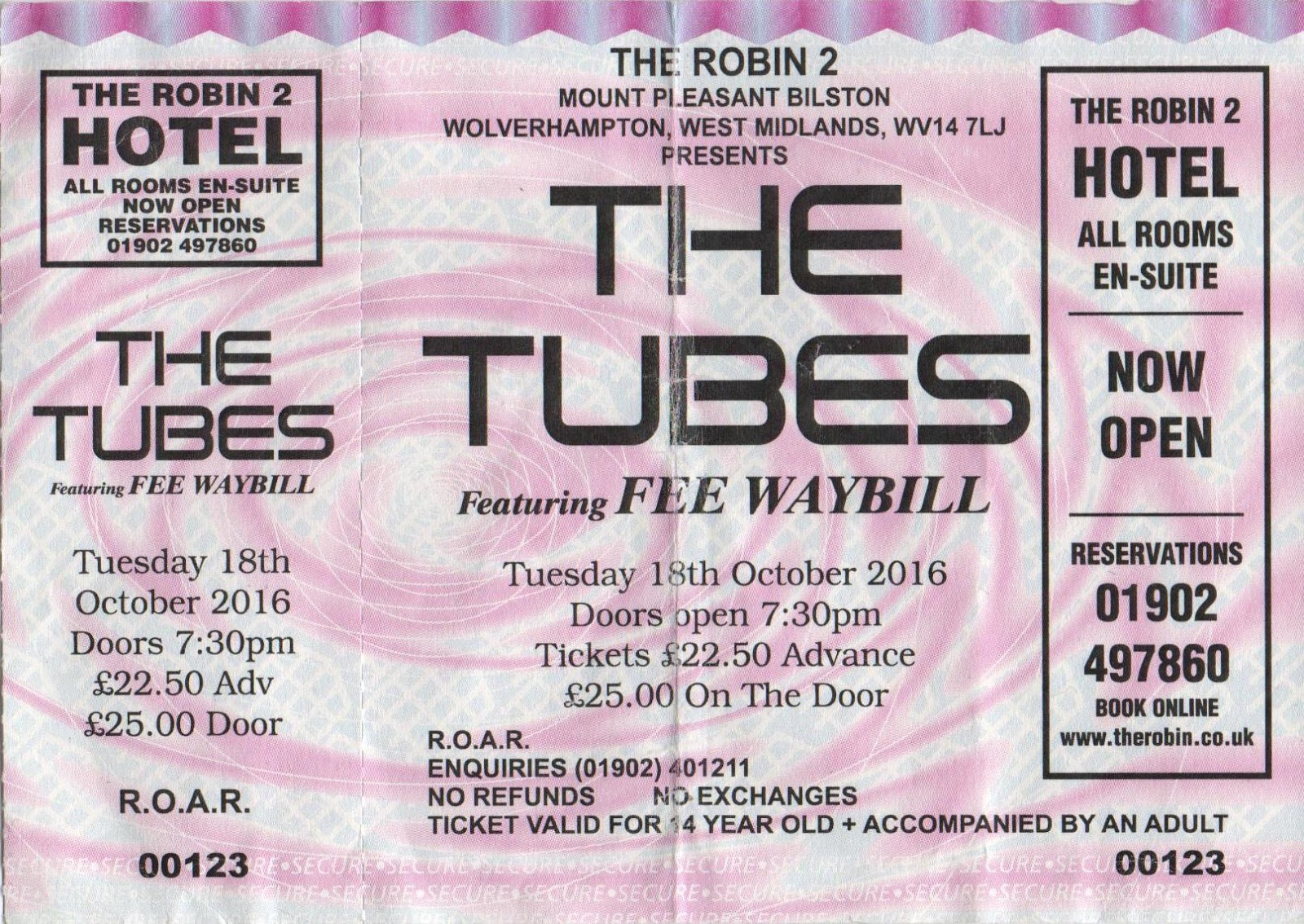 Elobeatlesforever Caught Live The Tubes The Robin 18 10 16