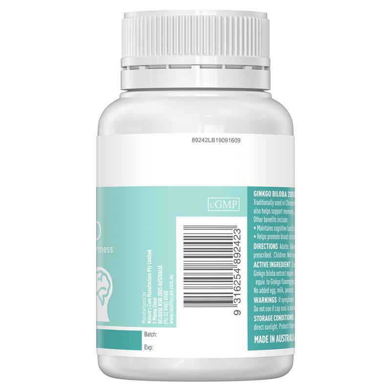Healthy Care Ginkgo 2000 (mẫu mới)