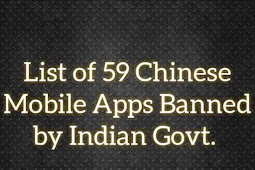 List of 59 Chinese Apps Banned by Indian Government - TikTok, Helo, Xender