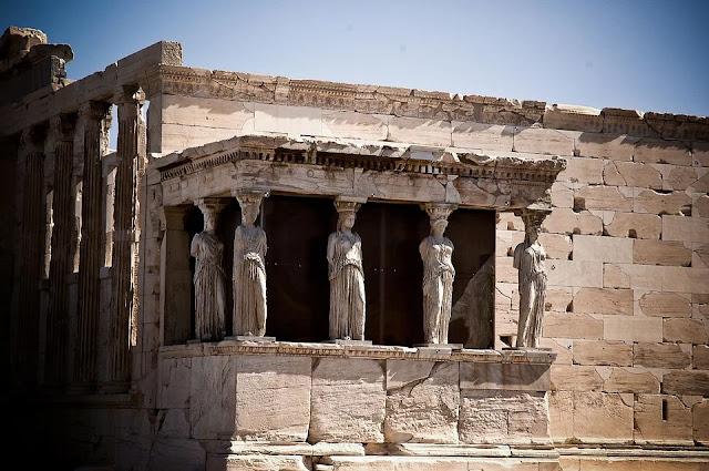 cariatidi-Partenone-Grecia-fregio architettonico