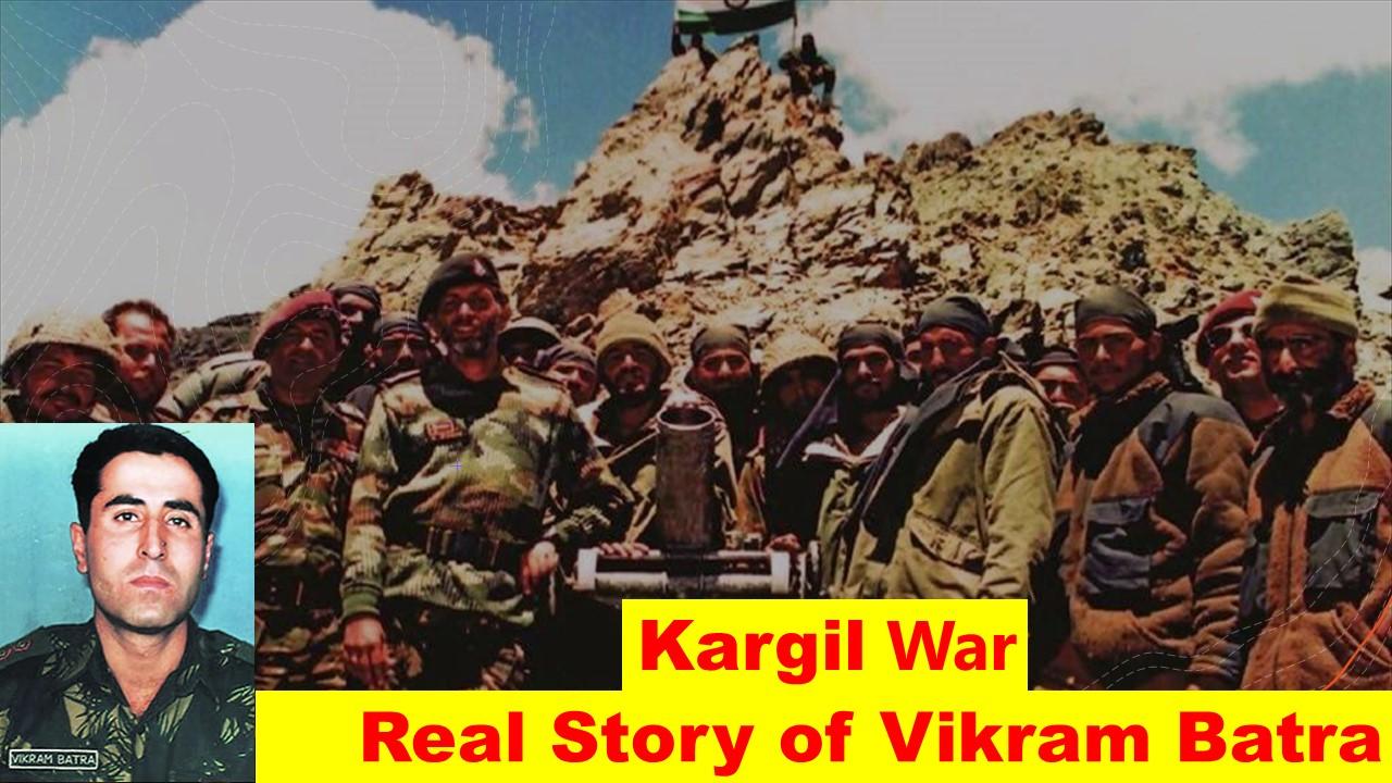 Kargil War | Real Story of Vikram Batra |Shershaah