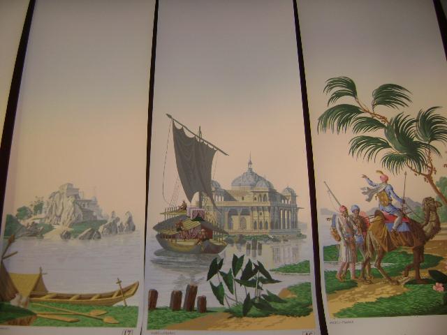 historic marine france papier peint panoramique decors maritime. Black Bedroom Furniture Sets. Home Design Ideas