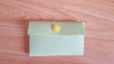 10-minute double pocket felt pouch