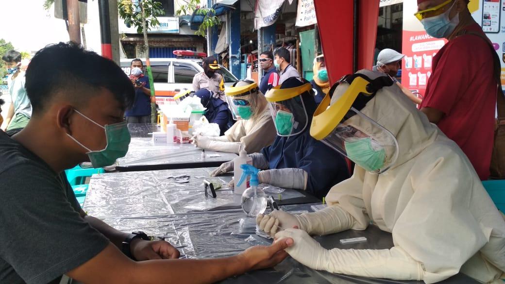 Alat Terbatas Pemkab Wonosobo Hanya Targetkan 50 Orang Di Pusat Keramaian Untuk Rapid Tes Di Hari Pertama