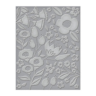 Simply Perfect Florets Embossing Folder from Spellbinders