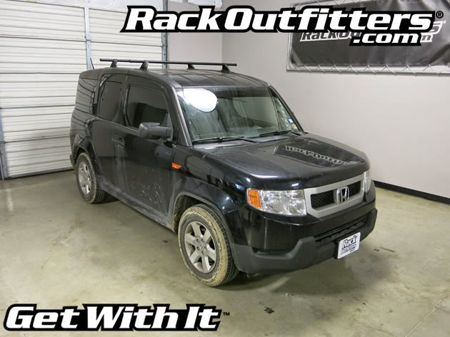 Honda Element Yakima Control Tower Round Bar Base Roof