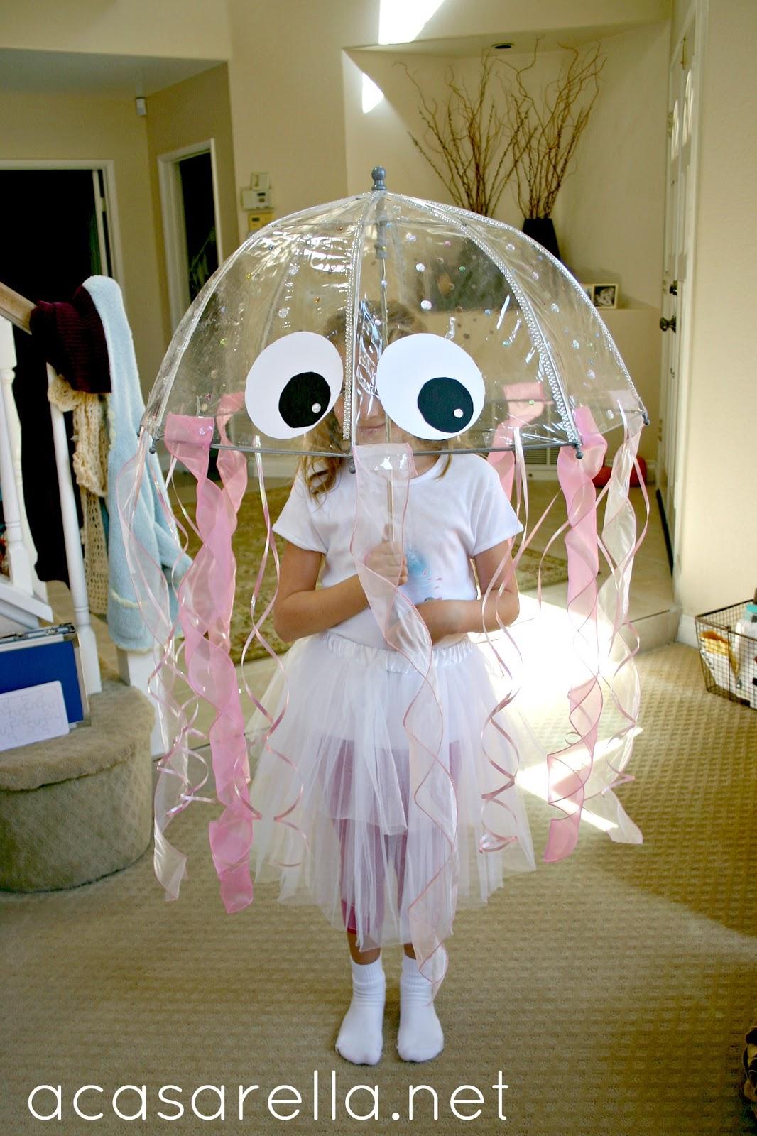 Easy Homemade Halloween Costumes For Girls DIY Jellyfish C...